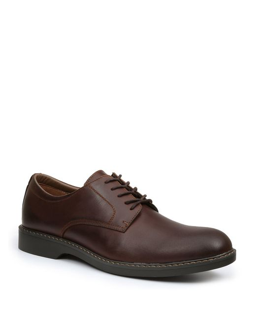 G.H. Bass & Co. | Brown Pasadena Leather Upper Oxfords for Men | Lyst
