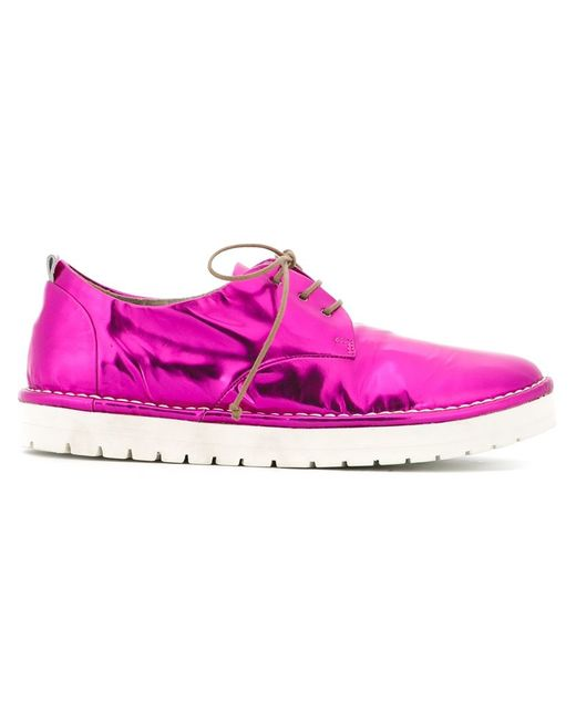 mars 232 ll lace up shoes in pink pink purple save 50