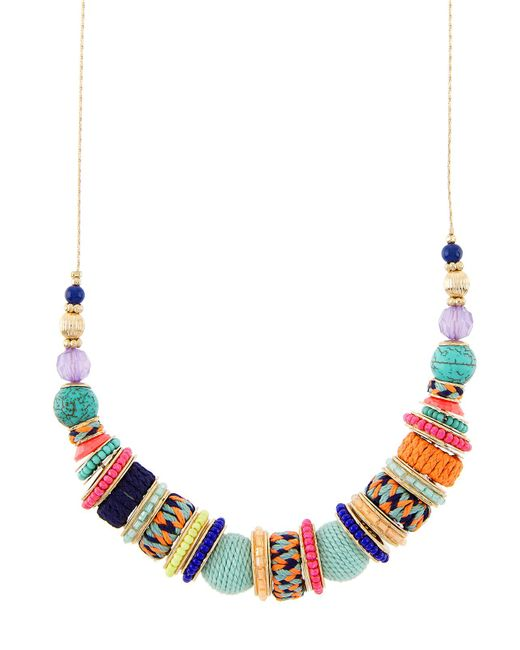 Accessorize - Multicolor Hawaii Rings Necklace - Lyst