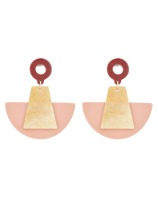 Blush Resin Earrings