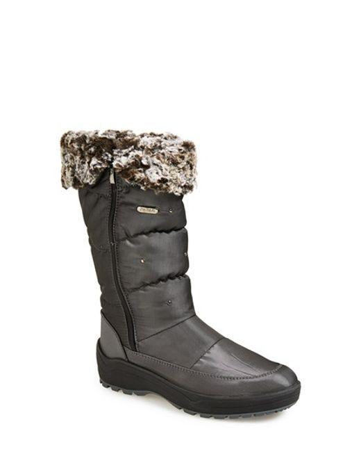 Pajar | Gray 'varsovie 2' Waterproof Boot | Lyst