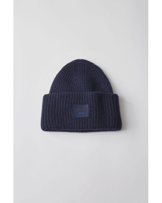 Acne - Blue Pansy L Face navy for Men - Lyst