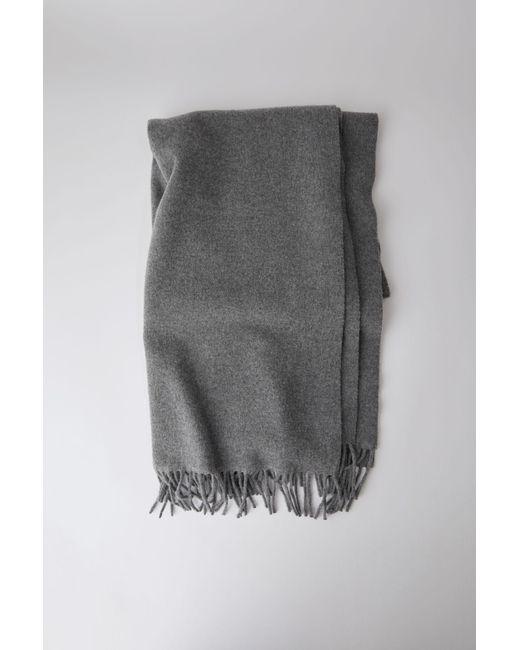Acne | Gray Canada New grey Melange | Lyst