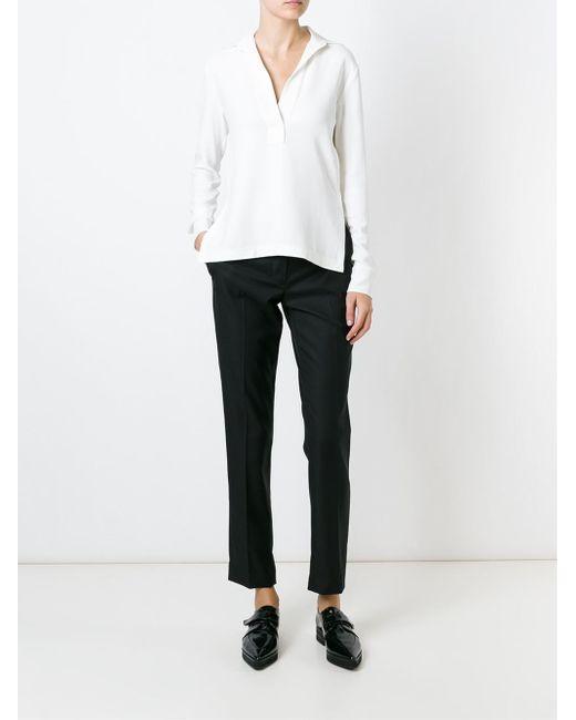 Helmut Lang | Multicolor Oversized Cotton-poplin Shirt | Lyst
