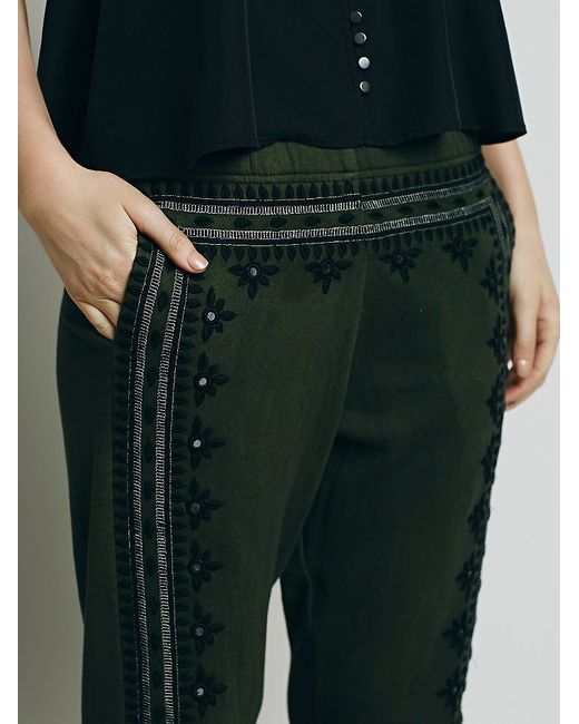 Free People | Green Fp One Three Wishes Sweatpants | Lyst