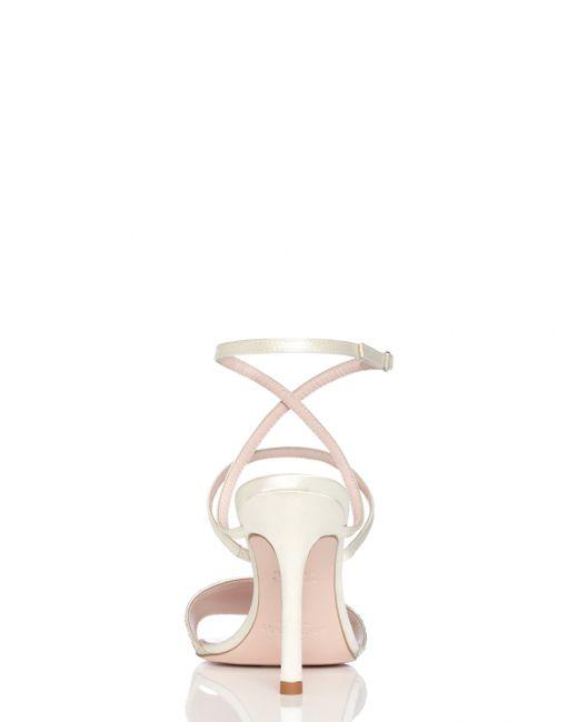 Kate Spade | Metallic Ismar Heels | Lyst