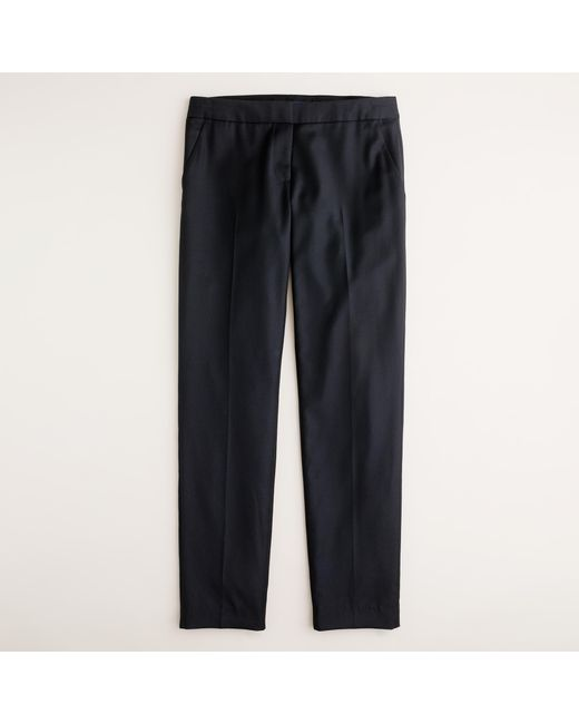 J.Crew | Black Paley Pant In Super 120s Wool | Lyst