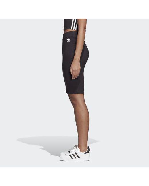 4dd2ad386abd ... Adidas - Black Styling Complements Midi Skirt - Lyst ...