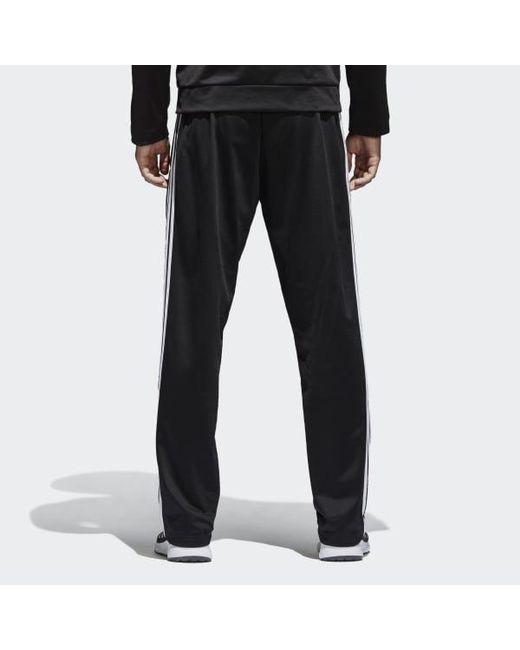 811fcd22c ... Adidas - Black Essentials 3-stripes Pants for Men - Lyst ...