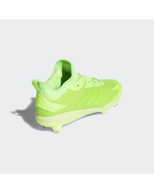 ... Adidas - Green Adizero Afterburner V Dipped Cleats for Men - Lyst ... a6a60898b