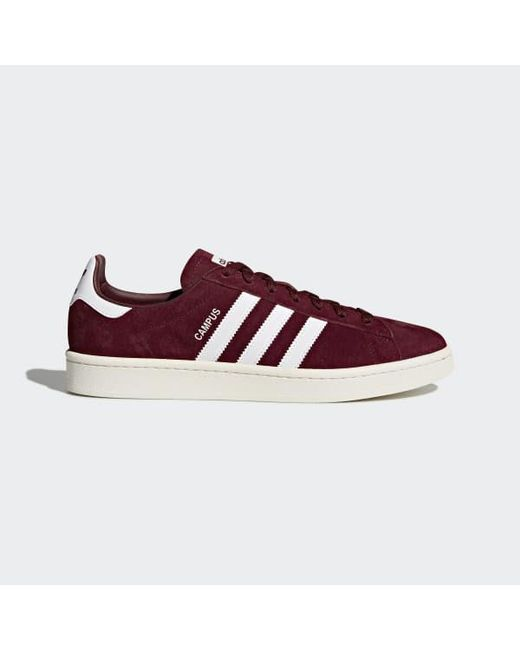 e26318748ee0 Adidas - Red Campus Shoes - Lyst ...