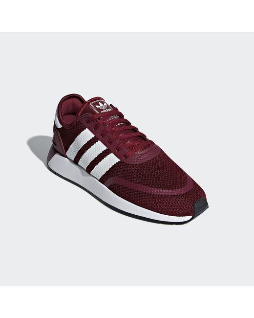meet 81b2a 8e29b ... Adidas Originals - Red Adidas N-5923 Collegiate Burgundy  Ftw White   Core Black ...