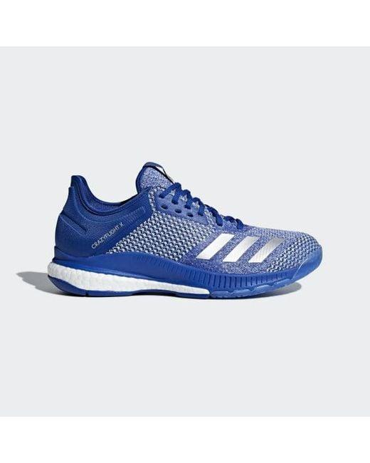 the latest 320e4 4d885 Adidas - Blue Crazyflight X 2.0 Shoes for Men - Lyst ...