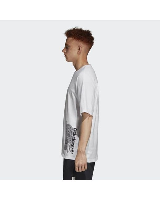 2515ffc0 ... Adidas - White Nmd Tee for Men - Lyst ...