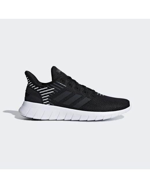size 40 73560 3b062 Adidas - Black Asweerun Shoes - Lyst ...