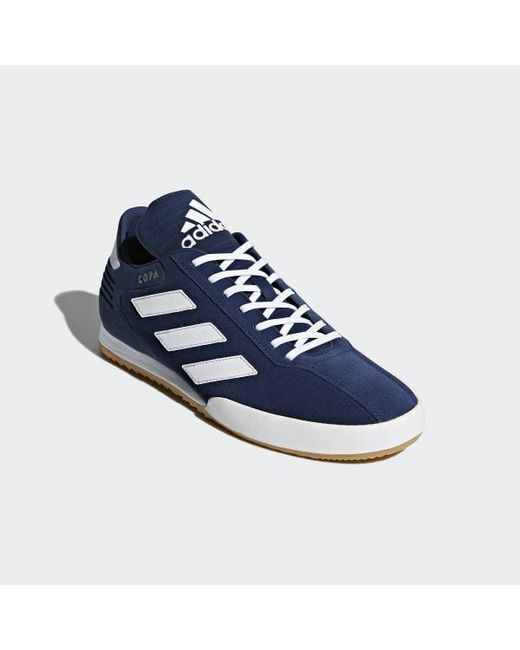 51f2ac736 adidas Sam Super Suede Fitness Shoes in Blue for Men - Save 49% - Lyst