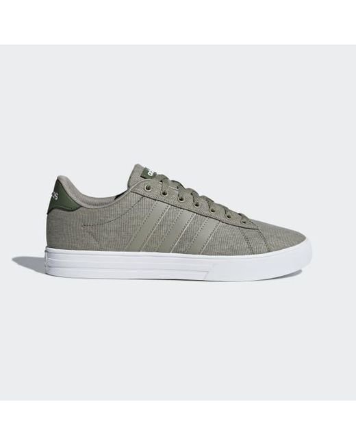 2f35e43047b Adidas - Gray Daily 2.0 Shoes for Men - Lyst ...