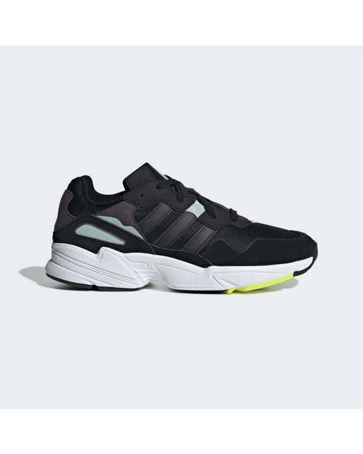 new style dea7f 364d2 Adidas Originals - Black Yung-96 Shoes for Men - Lyst ...