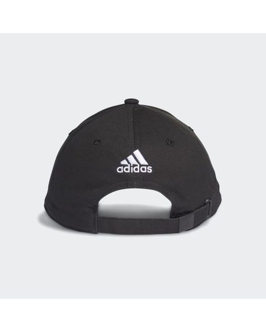 07a19e23998 ... Adidas - Black Juventus 3-stripes Hat - Lyst ...