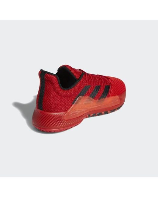 e765bf0171b43 ... Adidas - Red Pro Bounce Madness Low 2019 Shoes for Men - Lyst ...