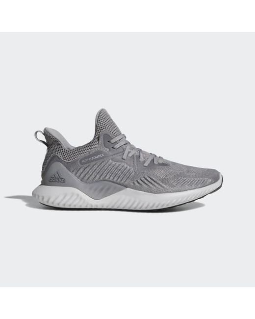 90fab66501b41 Adidas - Gray Alphabounce Beyond Shoes for Men - Lyst ...