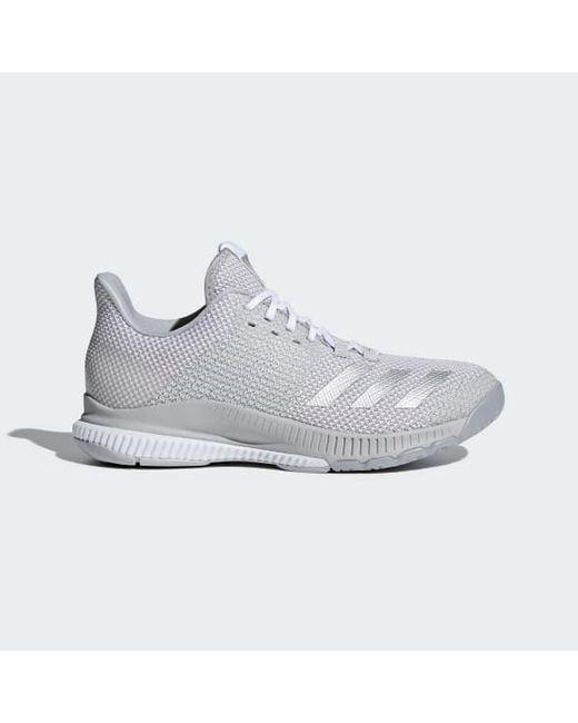big sale 8d947 1e2c0 Adidas - White Crazyflight Bounce 2.0 Shoes for Men - Lyst ...