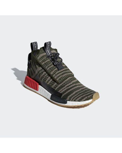 on sale 395b7 95052 ... Adidas - Green Nmdts1 Primeknit Shoes - Lyst ...