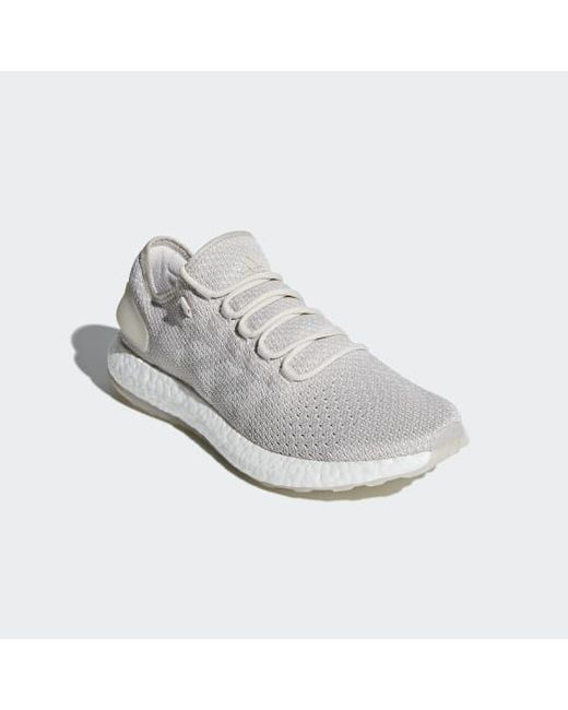 030d846ca ... Adidas - White Pureboost Clima Shoes for Men - Lyst ...