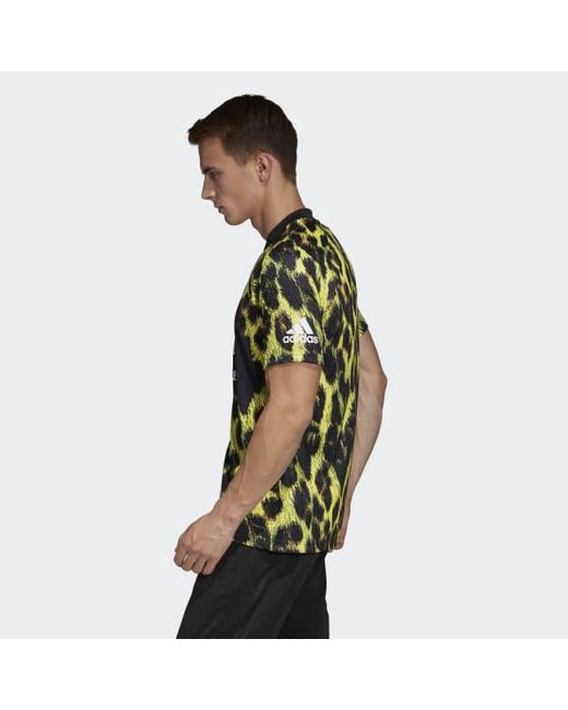 9c2b07777ca ... Adidas - Yellow Manchester United Ea Sports Jersey for Men - Lyst ...