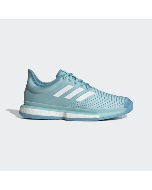 f7e671f1c Adidas - Blue Solecourt Boost Parley Shoes for Men - Lyst ...