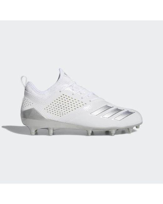 Adidas - White Adizero 5-star 7.0 Lax Low Cleats for Men - Lyst ... ef1d1e06eca