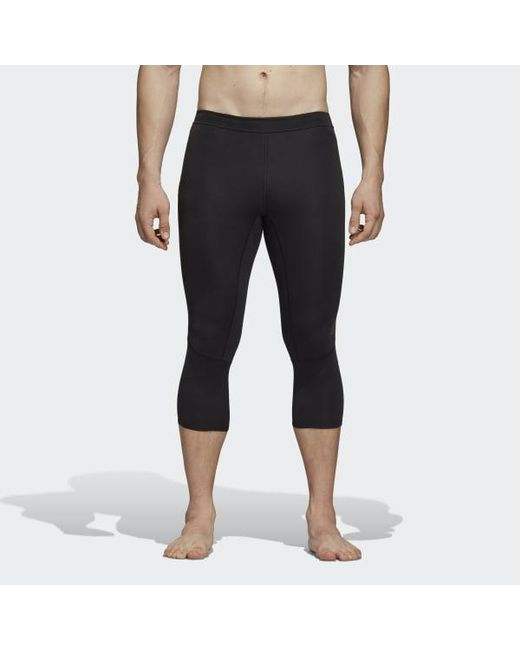 2c29c25f18d4b Adidas - Black Supernova Tights for Men - Lyst ...