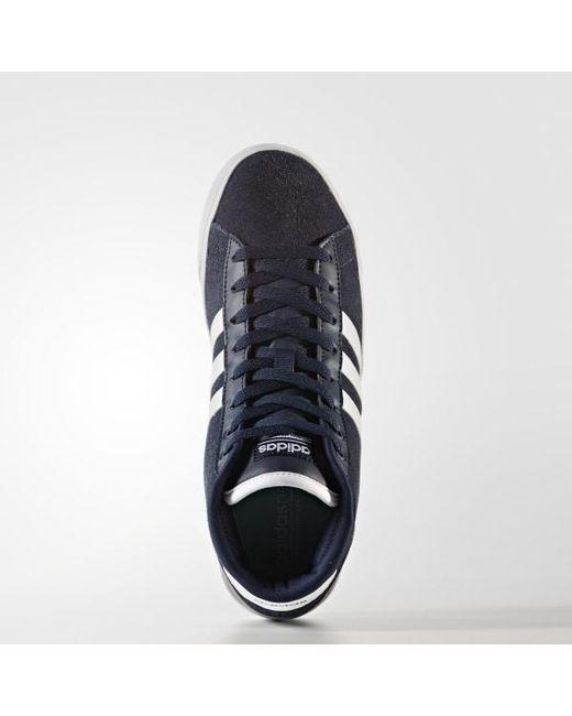 official photos 0656e 37006 ... Adidas - Blue Cloudfoam Daily Qt Mid Shoes for Men - Lyst ...