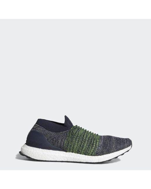 45d6c908c Adidas - Blue Ultraboost Laceless Shoes for Men - Lyst ...