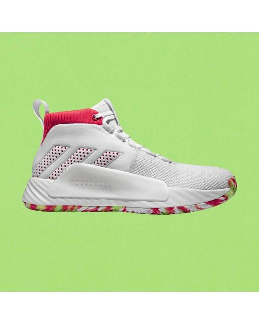 on sale 1d97f f80be Adidas - White Dame 5 Shoes for Men - Lyst ...
