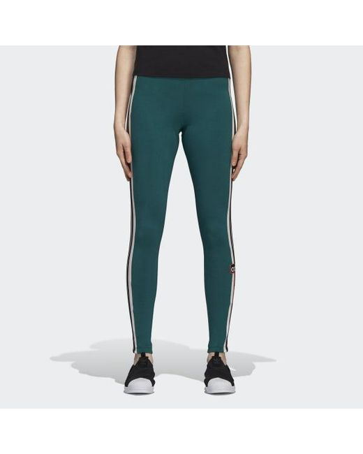 51c57941222a Adidas - Green Adibreak Tights - Lyst ...