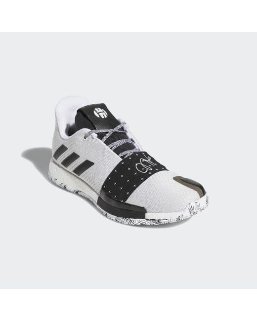 official photos 76872 eb820 3 Shoes for Men - Lyst Adidas - White Harden Vol.