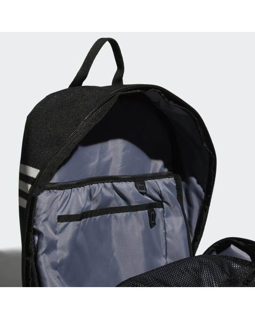 aa713b5130 ... Adidas - Black Originals National Backpack for Men - Lyst ...