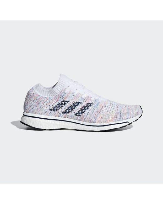 wholesale dealer 81649 034f1 Adidas - White Adizero Prime Ltd Shoes - Lyst ...