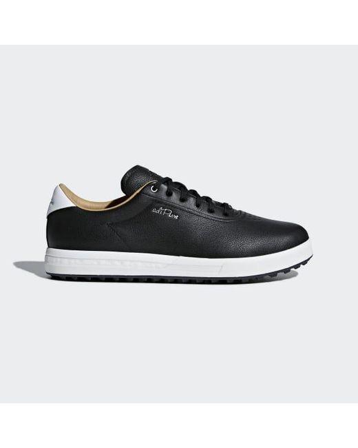 premium selection 05b9e 12047 Adidas - Black Adipure Sp Shoes for Men - Lyst ...