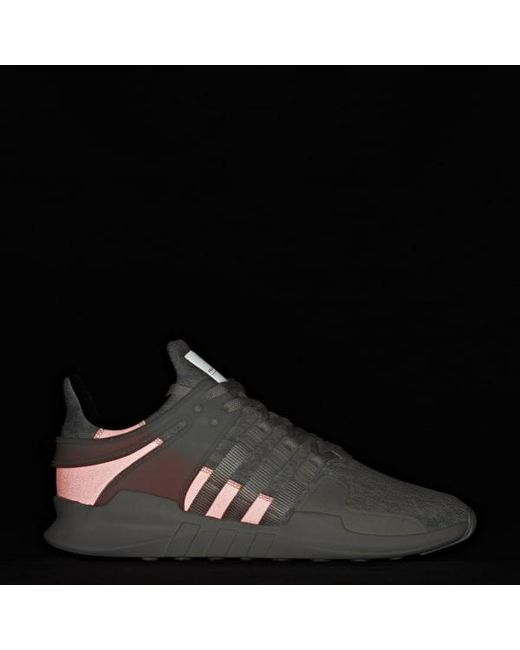 online store eda19 e18f5 ... Adidas - White Eqt Support Adv Shoes for Men - Lyst ...