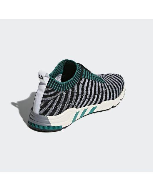 competitive price c71e6 368c2 ... Adidas - Black Eqt Support Sk Primeknit Shoes - Lyst ...