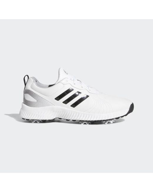 21aa254e7 Adidas - White Response Bounce Shoes - Lyst ...