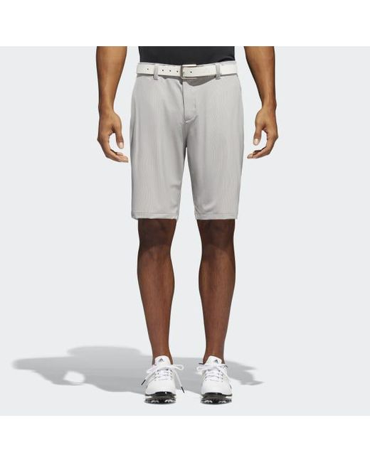 Adidas - Gray Ultimate 365 Pinstripe Shorts for Men - Lyst