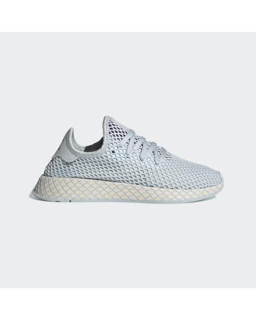 128082c2f380a Adidas - Blue Deerupt Runner Shoes - Lyst ...