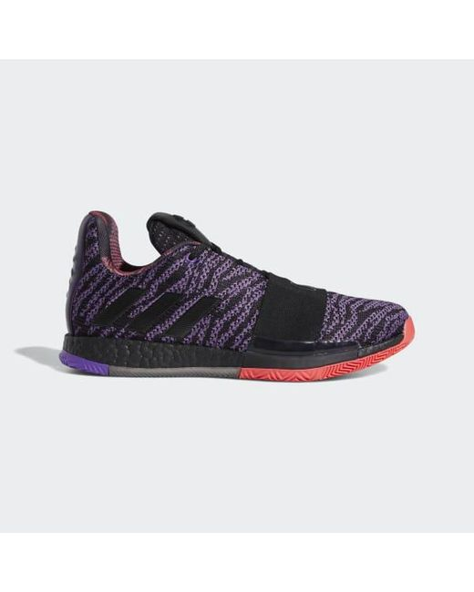 8d380f55a836 Adidas - Purple Harden Vol. 3 Shoes for Men - Lyst ...