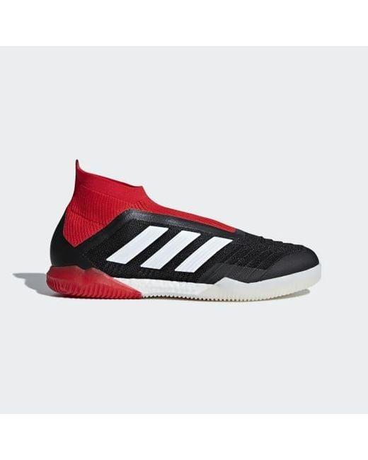 Lyst Adidas Predator in Tango 18+ Indoor Shoes in Predator Black for Men 2ee381