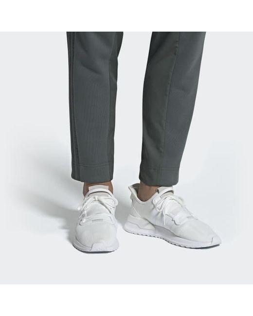 Women's White U_path Run Shoes
