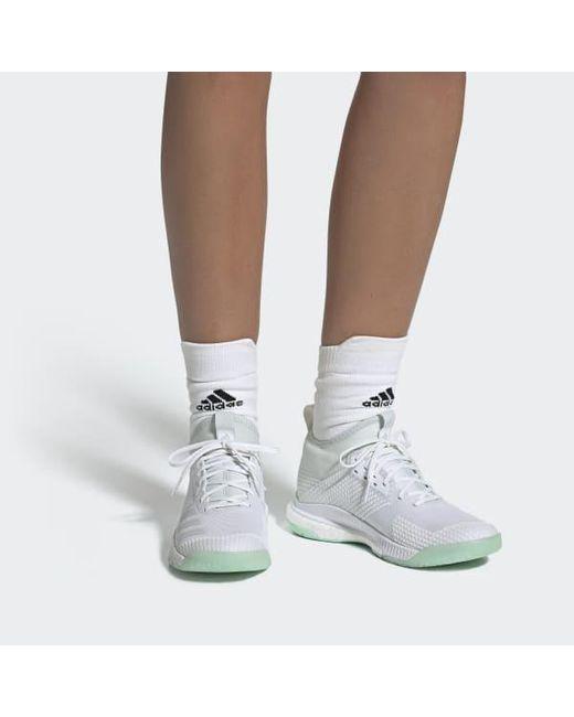 e503eeaab3d5d ... Adidas - White Crazyflight X 2.0 Mid Shoes - Lyst ...