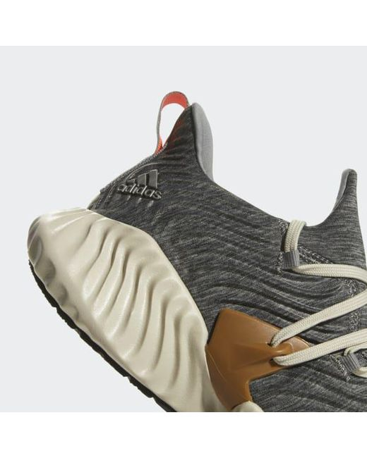 finest selection b52e3 168dd ... Adidas - Gray Alphabounce Instinct Shoes for Men - Lyst ...